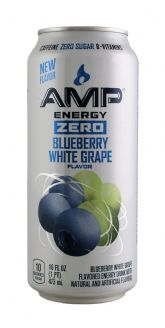 AMP Energy Zero Blueberry White Grape