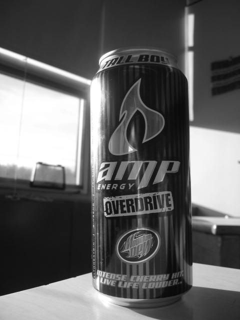 AMP Energy Drink: Amp Makes For Good Photography