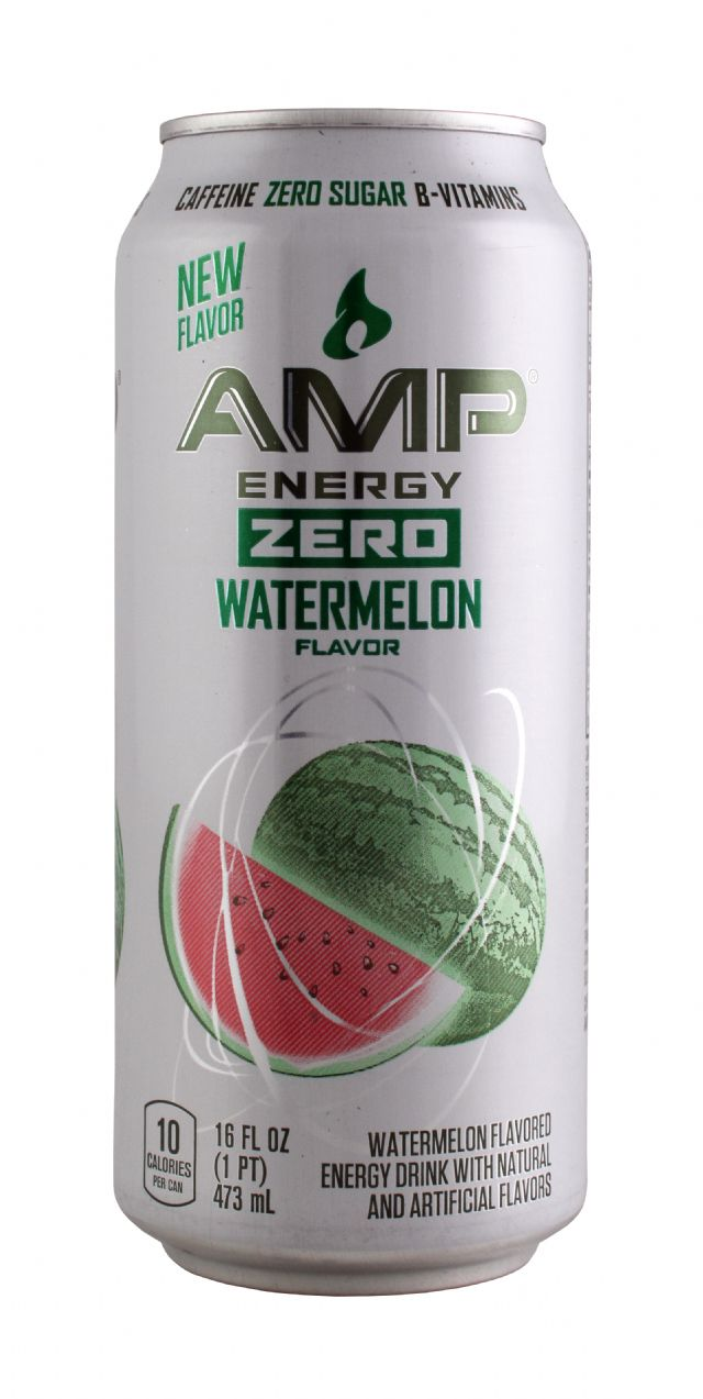 AMP Energy Drink: Amp Watermelon Front