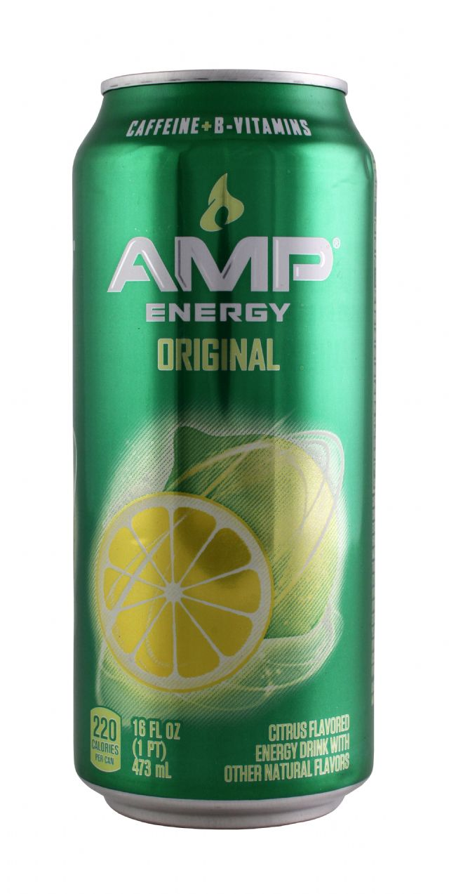 AMP Energy Drink: Amp Original Front