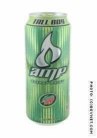 AMP Energy Drink Tall Boy (2006)