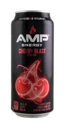 AMP Energy Drink: Amp CherryBlast Front