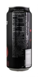 AMP Energy Drink: Amp CherryBlast Facts