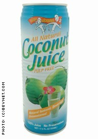 Amy & Brian Coconut Juice Pulp Free