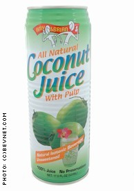 Amy & Brian Coconut Juice With Pulp