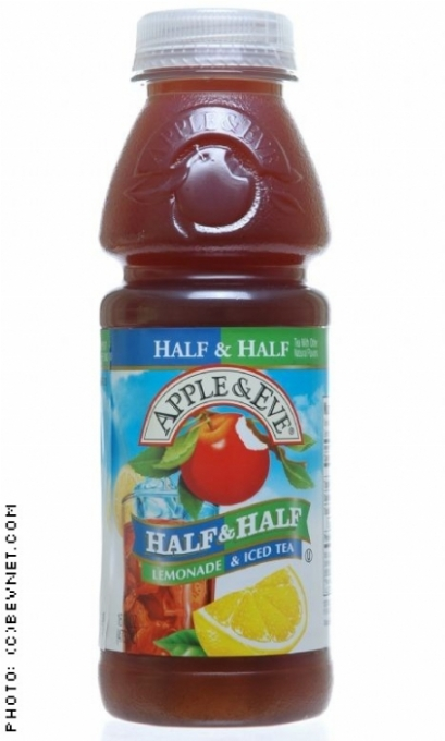 Apple & Eve Single Serve Juices: appleeve-halfhalf.jpg