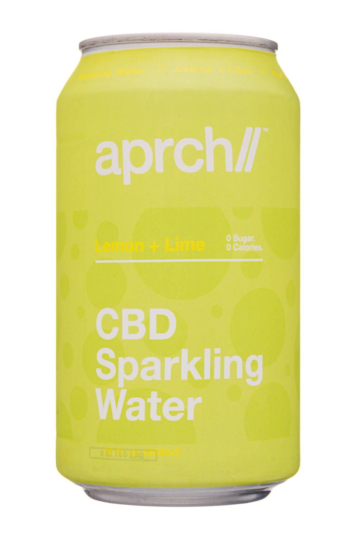 Aprch CBD: Aprch-12oz-2020-CBDSparkling-LemonLime-Front