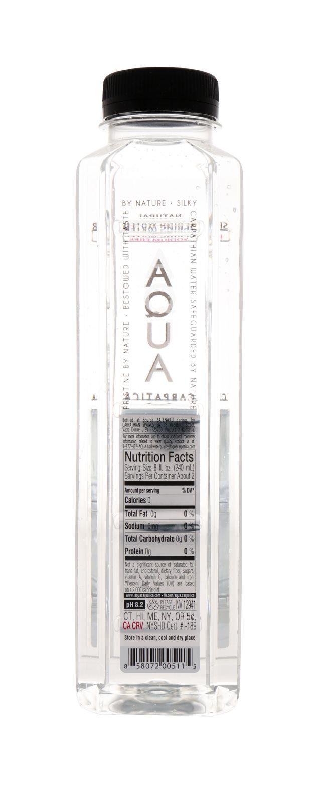 Aqua Carpatica: Aqua Facts