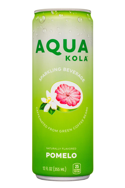 Aqua Kola: AquaKola-12oz-Sparkling-Pomelo-Front