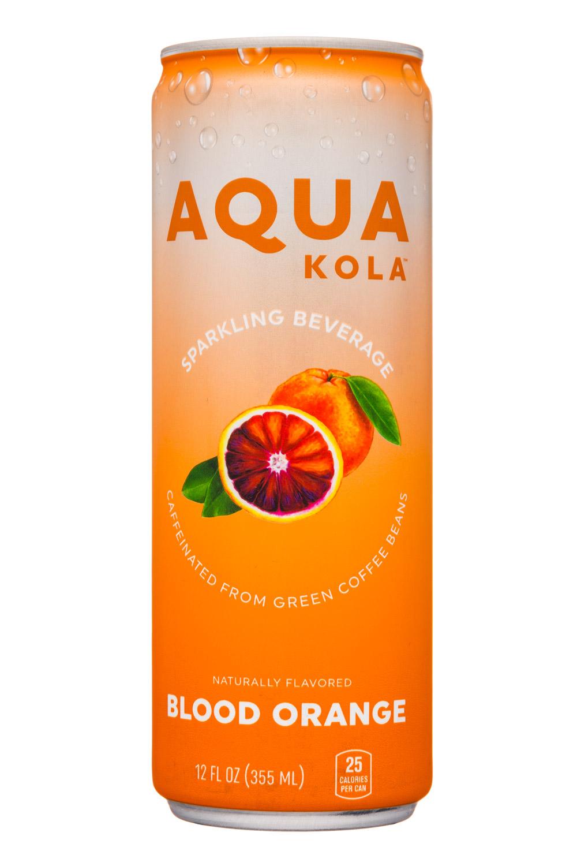 Aqua Kola: AquaKola-12oz-Sparkling-BloodOrange-Front