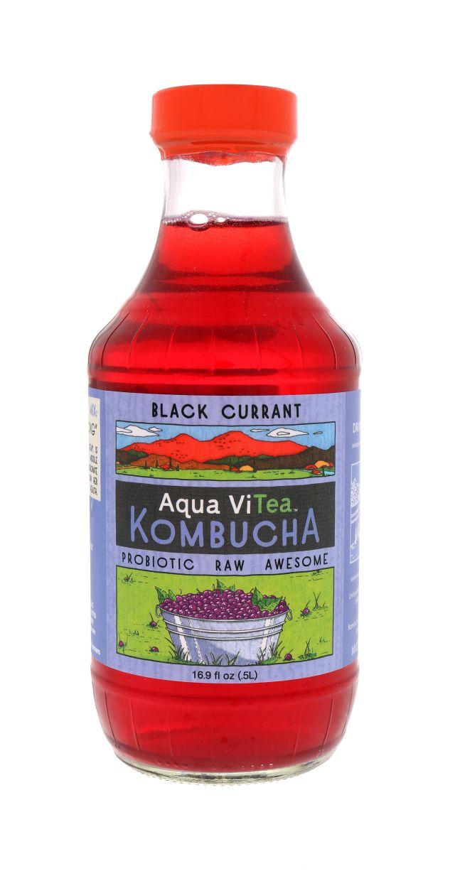 Aqua ViTea Kombucha: AquaViTea BlackCurrant Front