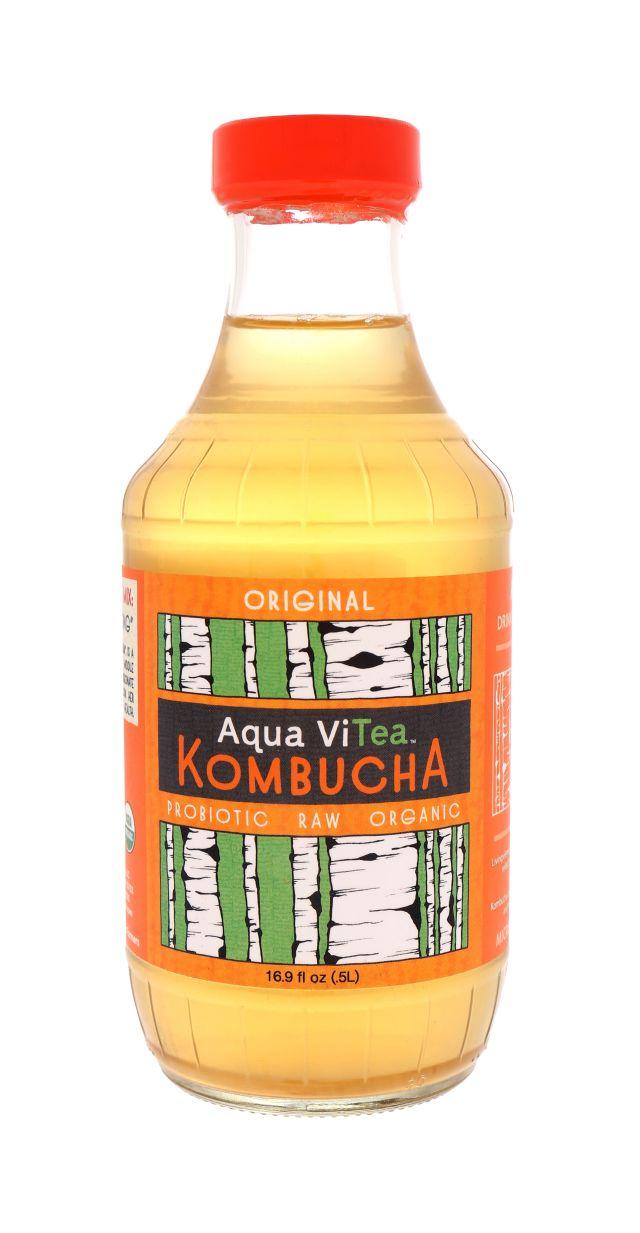 Aqua ViTea Kombucha: AquaViTea Original Front