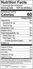 TurmericSunrise-NutritionalPanel