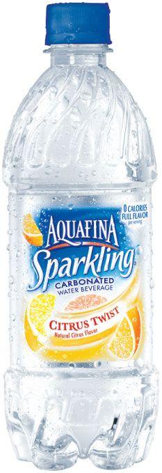 Aquafina Sparkling: Aquafina Sparkling-Citrus Twist