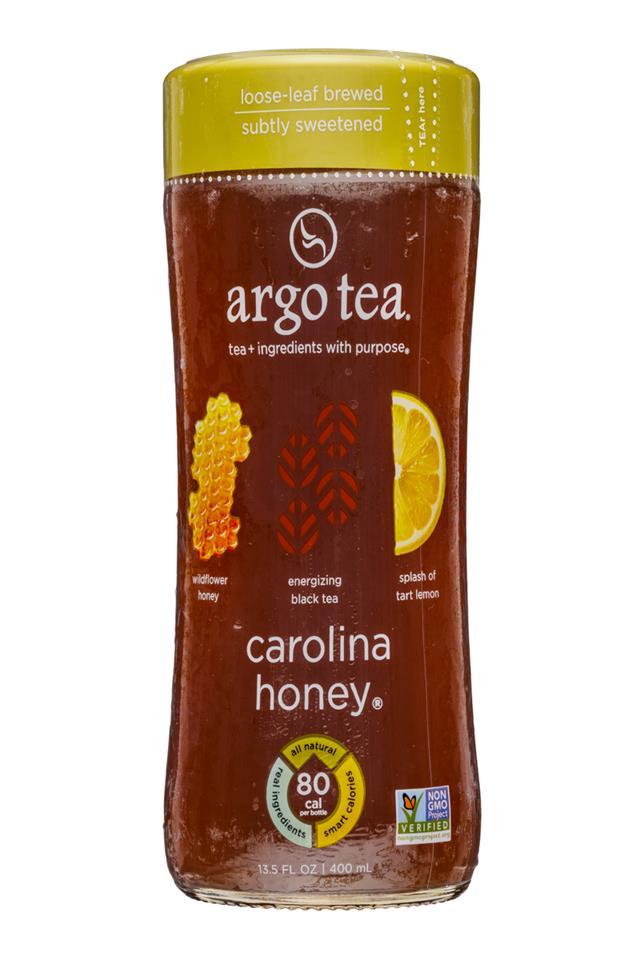 Argo Tea: ArgoTea-14oz-CarolinaHoney-Front