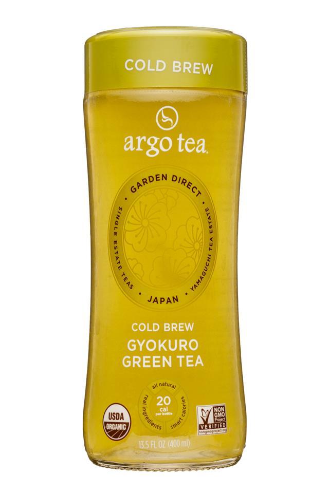 Argo Tea: ArgoTea-14oz-GyokuroGreenTea-Front