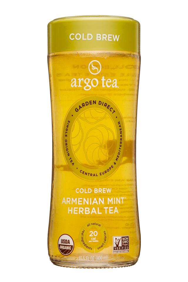 Argo Tea: ArgoTea-14oz-ArmenianMint-HerbalTea-Front
