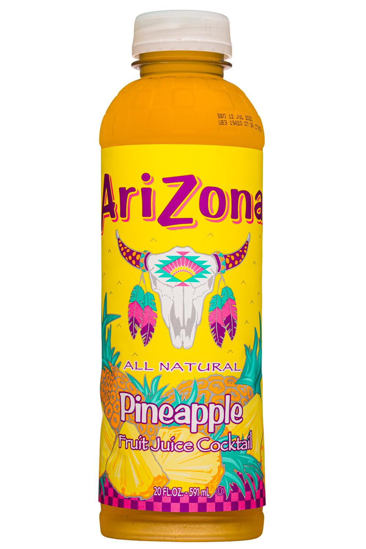 AriZona Pineapple Fruit Juice Cocktail