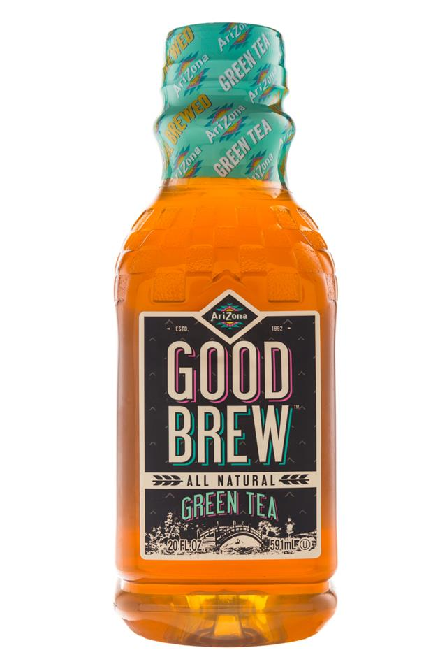 AriZona Good Brew: Arizona-20oz-GoodBrew-GreenTea-Front