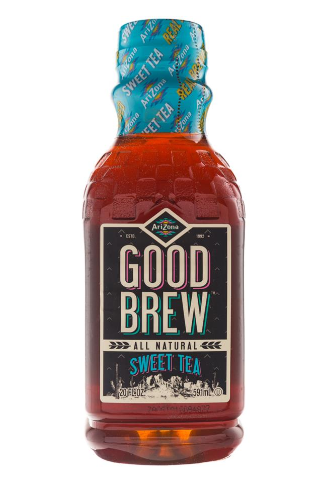 AriZona Good Brew: Arizona-20oz-GoodBrew-SweetTea-Front