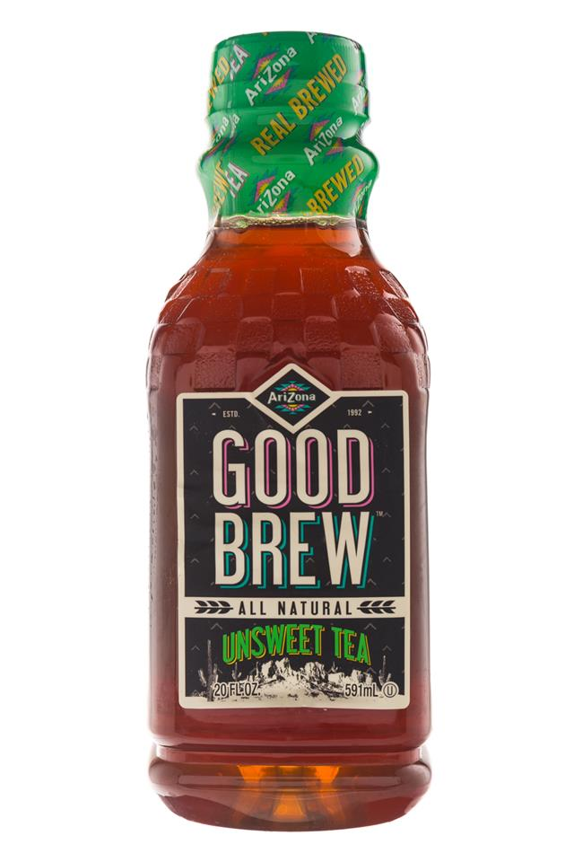 AriZona Good Brew: Arizona-20oz-GoodBrew-UnsweetTea-Front