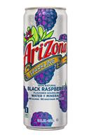 AriZona Sparkling: Arizona-12oz-SparklingWaterMinerals-BlackRaspberry-Front