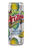 AriZona Sparkling: Arizona-12oz-SparklingWaterMinerals-LemonLime-Front