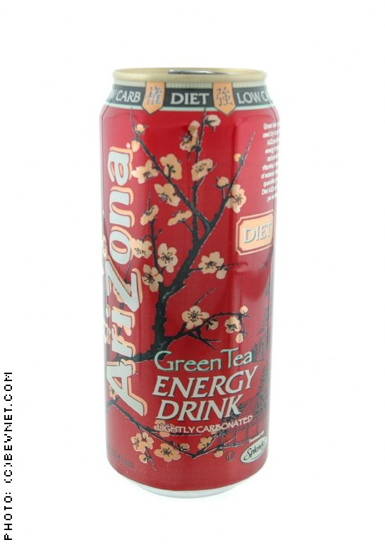 AriZona Green Tea Energy Drink: dietgreenteaenergy.jpg