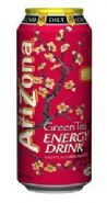 AriZona Green Tea Energy Drink: AriZona Diet Green Tea Energy Drink