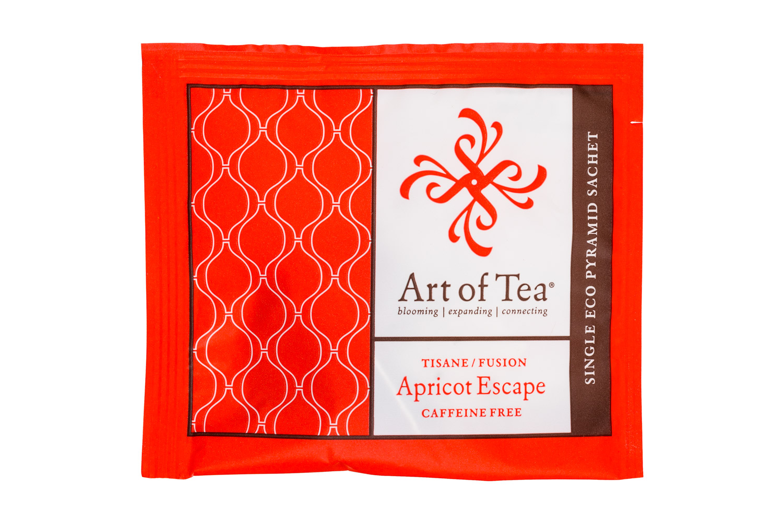 Art of Tea: ArtOfTea-SingleSachet-ApricotEscape-Front