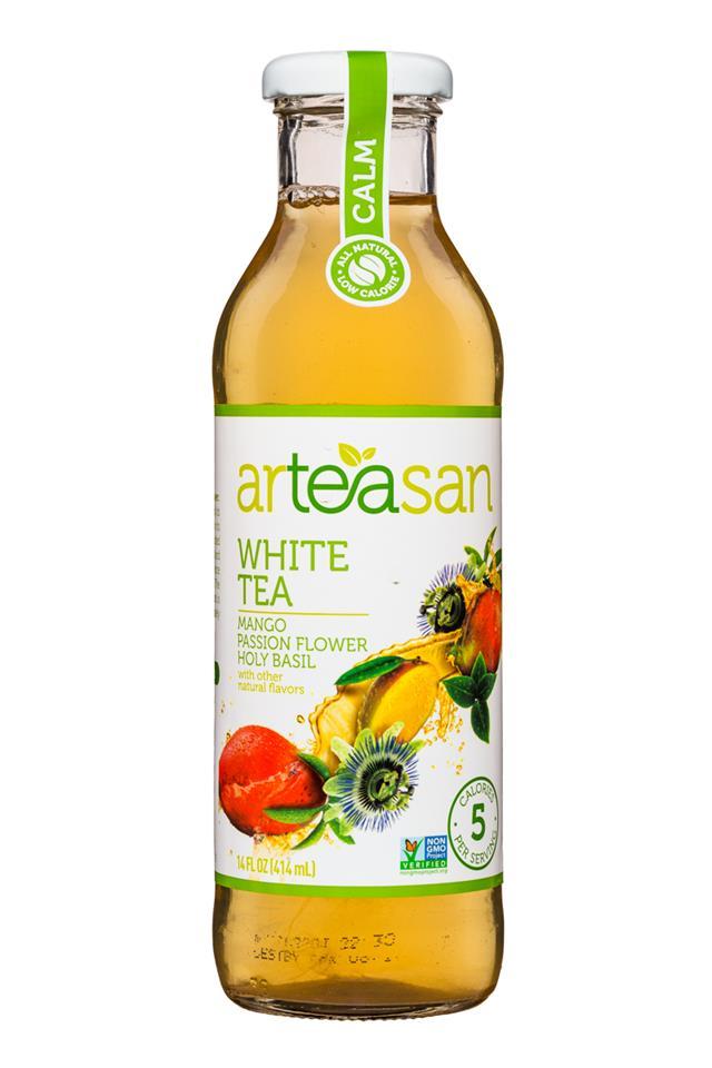Arteasan: Arteasan-14oz-Tea-White-Calm-Front