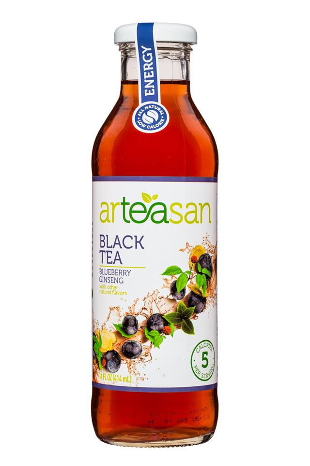 Arteasan: Arteasan-14oz-Tea-Black-Energy-Front