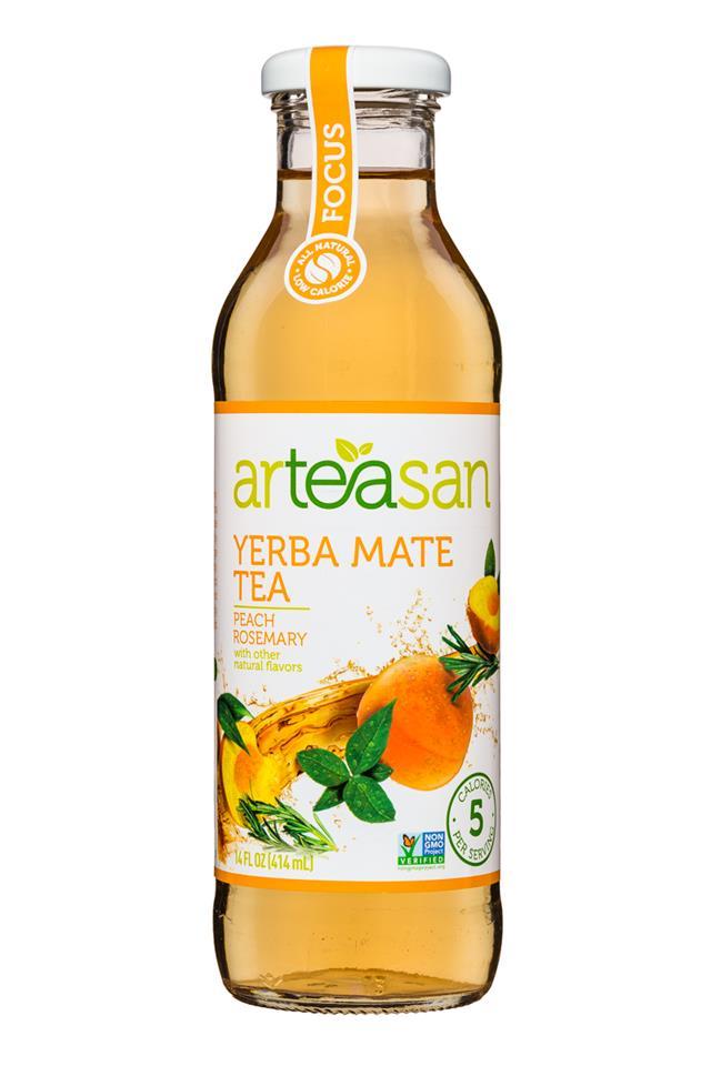 Arteasan: Arteasan-14oz-Tea-YerbaMate-Focus-Front