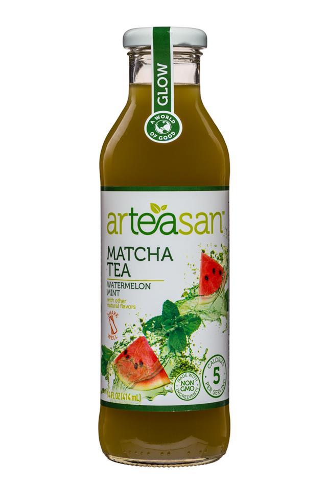 Arteasan: Arteasan-14oz-Tea-Matcha-Front