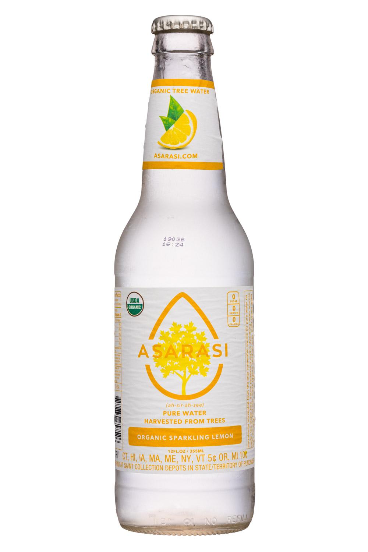 Organic Sparkling Lemon 2019