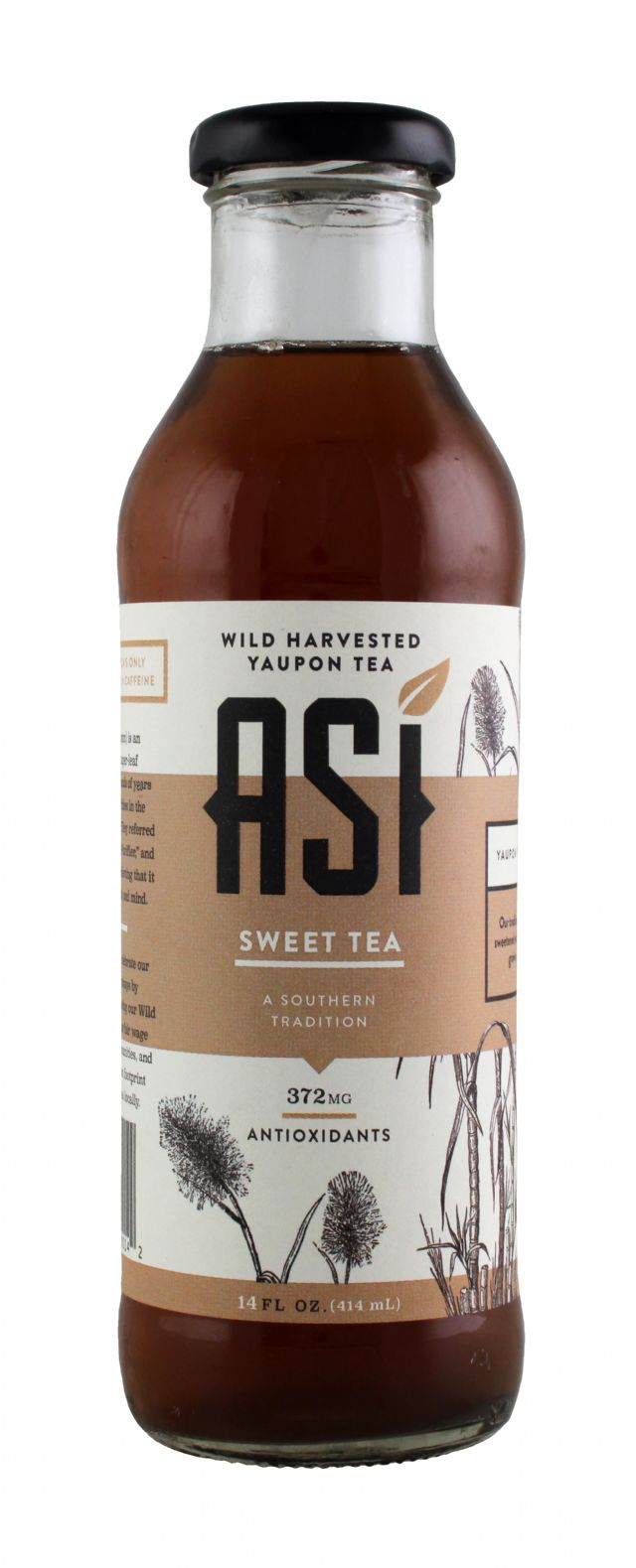 Asi Yaupon Tea: ASI SweetTea Front