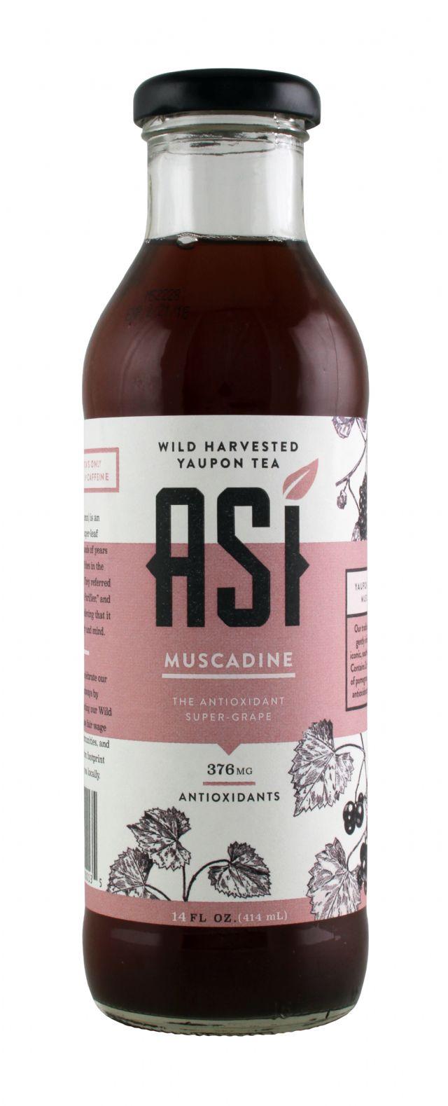 Asi Yaupon Tea: ASI Muscadine Front