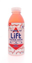 Atkins Lift Protein Drink: Atkins Berry Front
