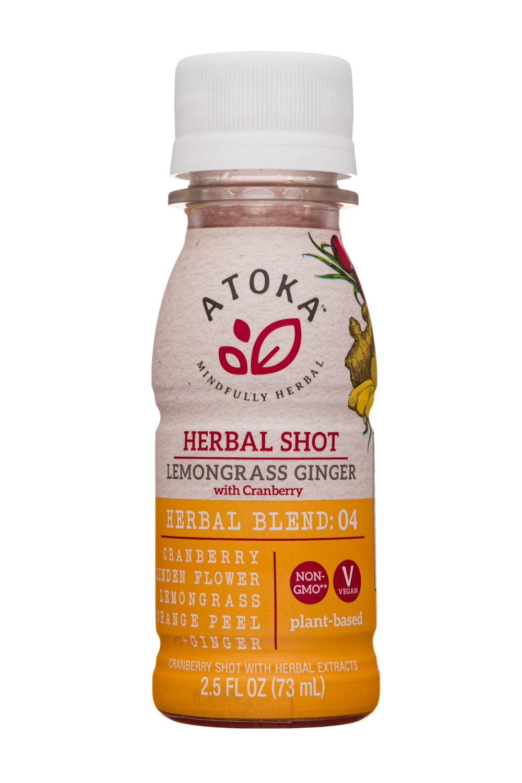 Lemongrass Ginger - Herbal Shot