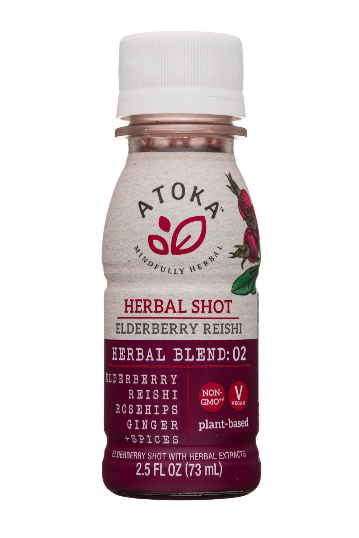 Elderberry Reishi - Herbal Shot
