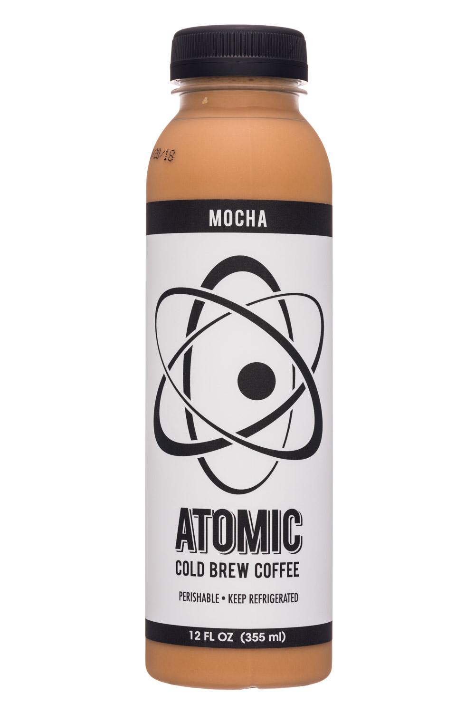 Atomic Coffee: AtomicCoffee-12oz-ColdBrew-Mocha-Front