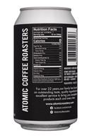 Atomic Coffee: AtomicCoffee-12oz-Nitro-Facts