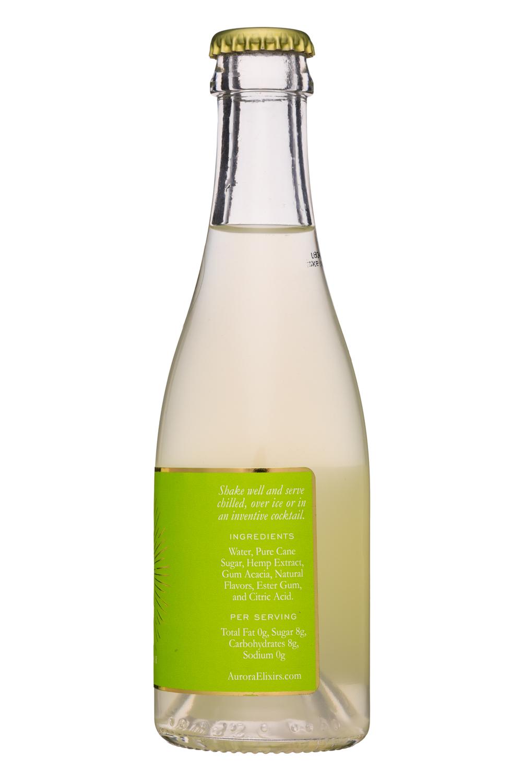 Aurora Elixirs: Aurora-7oz-HempElixer-Grapefruit-Facts