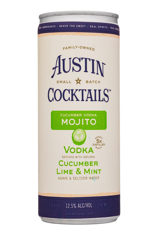 Cucumber Vodka Mojito