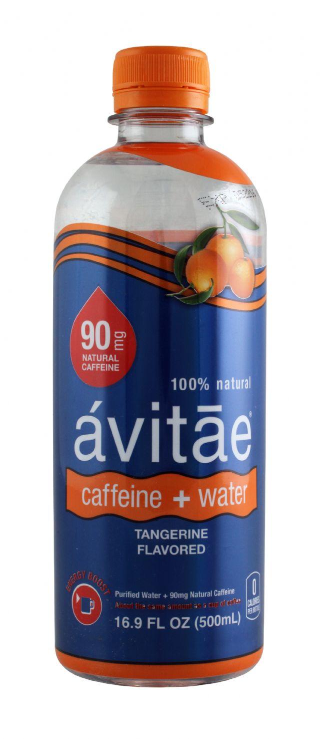 Avitae Caffeinated Water: Avitae Tangerine Front