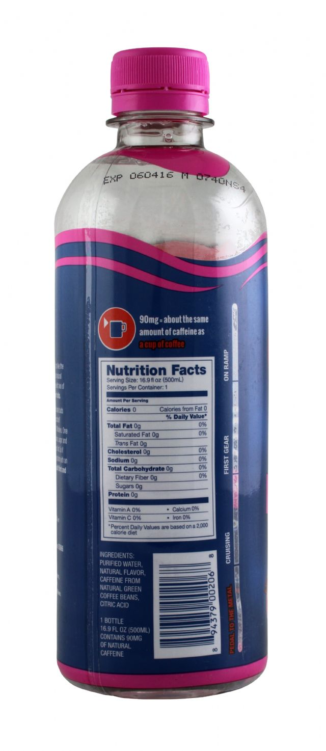 Avitae Caffeinated Water: Avitae PomAcai Facts