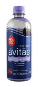 Avitae Caffeinated Water: Avitae Blackberry Front
