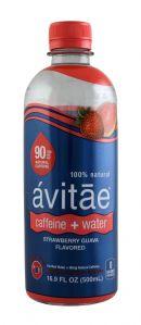 Avitae Caffeinated Water: Avitae StrawGuava Front