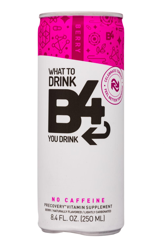 B4: SunshineSupplements-8oz-B4-VitaminSupplement-Berry-Front
