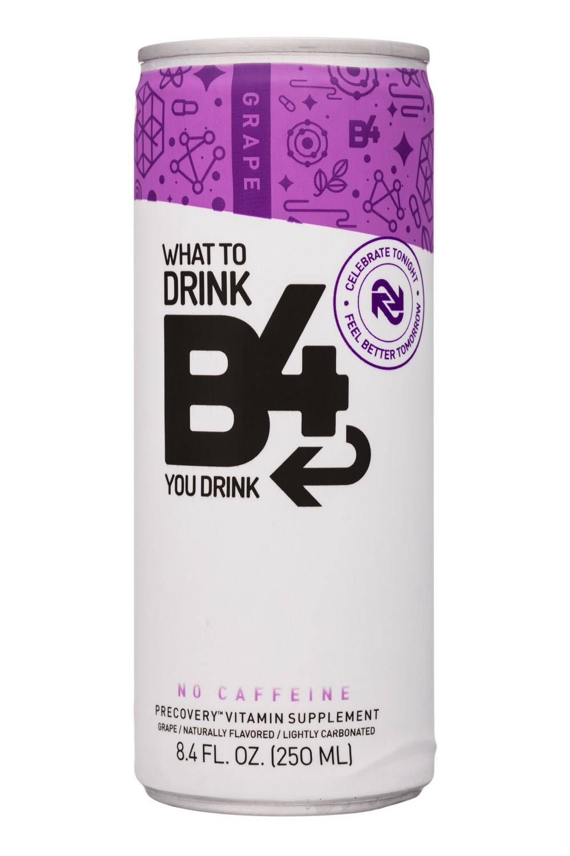 B4: SunshineSupplements-8oz-B4-VitaminSupplement-Grape-Front